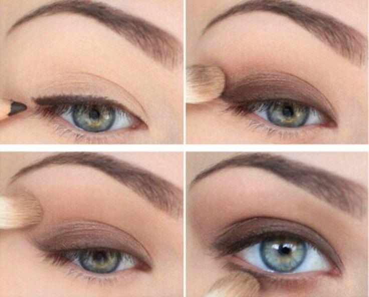 awesome Дневной макияж для голубых глаз (50 фото) — Тенденции, пошаговые инструкции