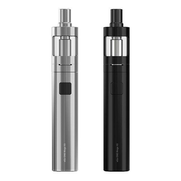 eGo One Mega V2est un kit e-cigarette de marque Joyetech. Le cigarette électronique est composée d'une batterie eGo One Mega V2 d'une capacité de 2300 mAh et d'un clearomiseur eGo One Mega V2 de 4ml. Le kit comprend également deux résistances, un câble USB pour la recharge et un drip tip supplémentaire. Un kit complet, facile à utiliser et doté d'une très grande autonomie.