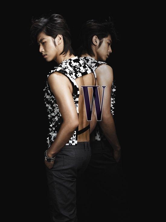 TVXQ! - Yunho for W Korea Magazine November 2009