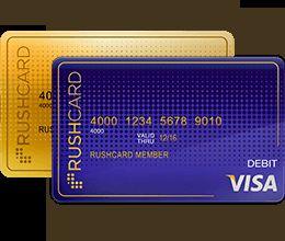 Apply Now :: RushCard Prepaid Visa Application