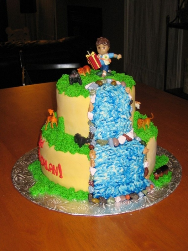 Best Images About Ideas For Bronsons Rd Birthday On Pinterest - Go diego go birthday cake