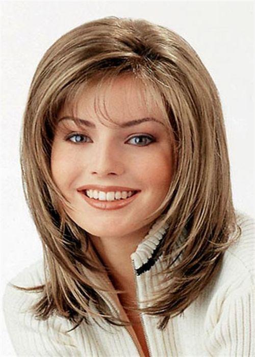 Longitud mediana estilos de pelo para mujeres mayores de 40 | Peinados 2013 | StylesNew: