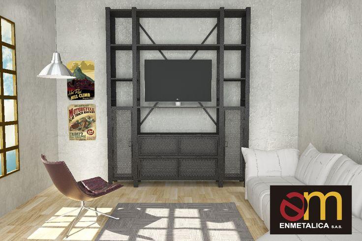 Nuevo centro de entretenimiento, modular, alturas variables según medidas y necesidades del cliente