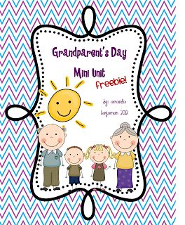 Let's Get Fancy in First: Grandparents Day Freebie