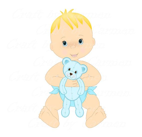 Baby boybabies clipart baby shower clip artcute by ...