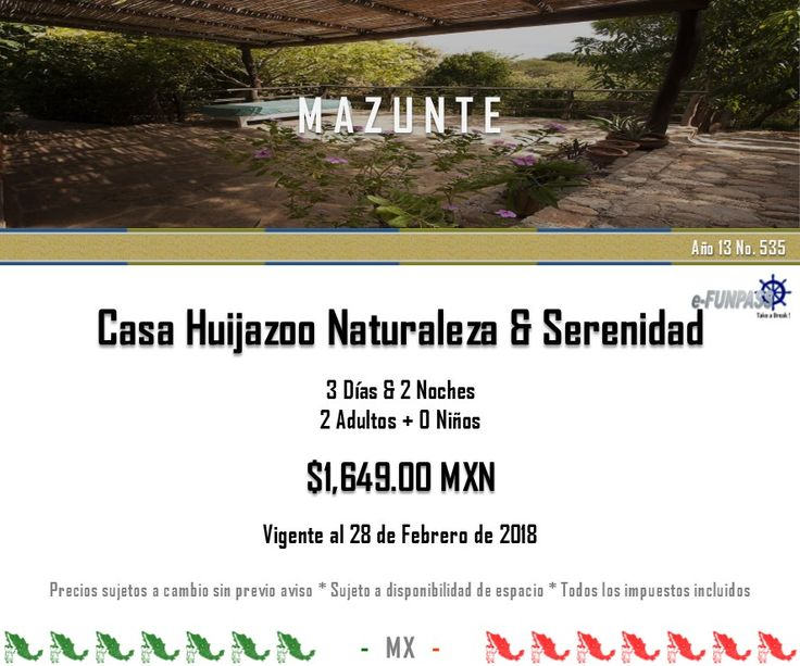 e-FUNPASS Año 13 No. 535 :) Mazunte