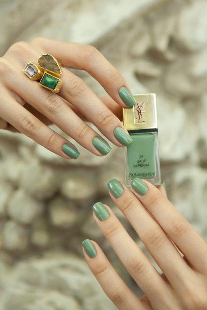 YSL Jade Imperial Nail Polish