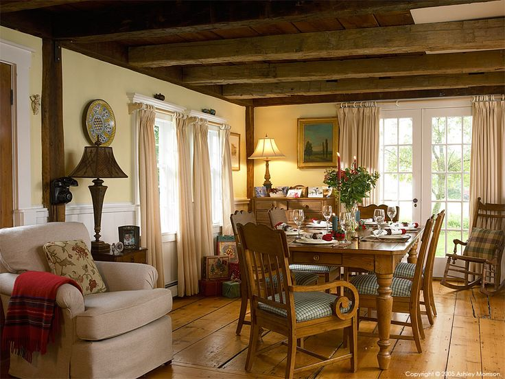 17 best ideas about new england farmhouse on pinterest for The dining room ennis