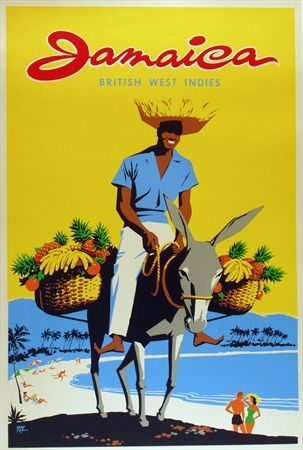 Jamaica #tourism #poster by Mactex (1955)