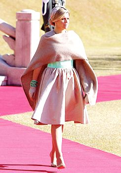 Queen Máxima's state visit outfits (South Korea 2014)