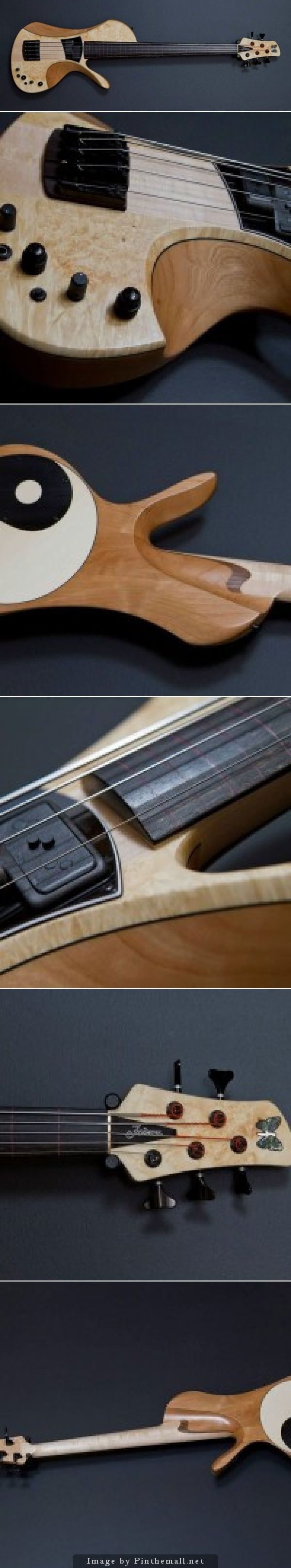 Fodera Unveils Victor Wooten Bow Bass Prototype... - a grouped images picture - Pin Them All