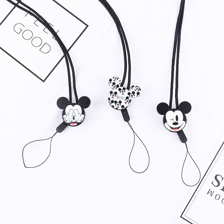 Cheap mobile phone chain, Buy Quality phone chain directly from China mobile phone lanyards Suppliers: Mr.orange Mobile Phone Lanyard Fashion Cartoon Mickey Key Lanyard Mobile Keychains Neck Straps Anti-theft Mobile Phone Chain