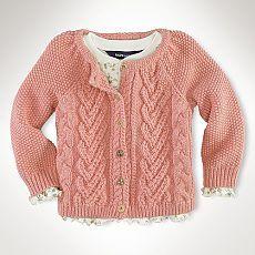 схемы вязания спицами для девочек
