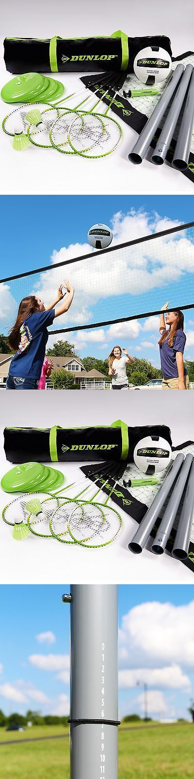 Other Backyard Games 159081: Dunlop Professional Volleyball Badminton Games: Classic Outdoor Lawn Game Set... -> BUY IT NOW ONLY: $141.95 on eBay!