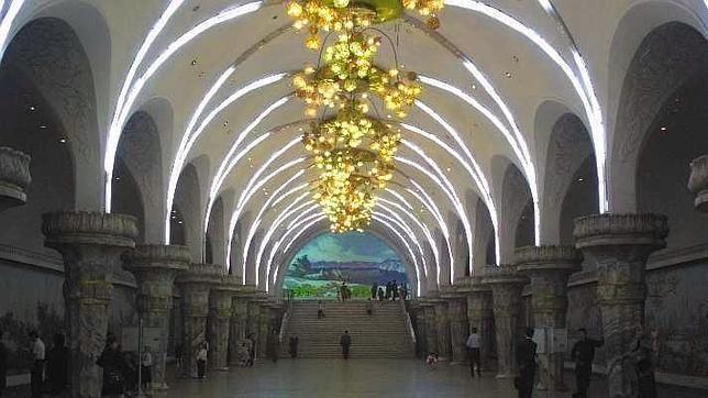Estación de Yonggwang - Corea del norte