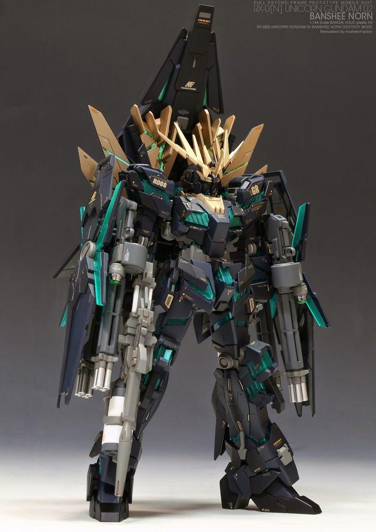HGUC Gundam Unicorn Banshee Norn 1:144 scale | Scale ...