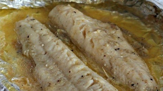 Flavor some walleye fillets with seasoned salt and butter, wrap them in aluminum foil, and grill to perfection with this fantastic recipe for grilled fish.