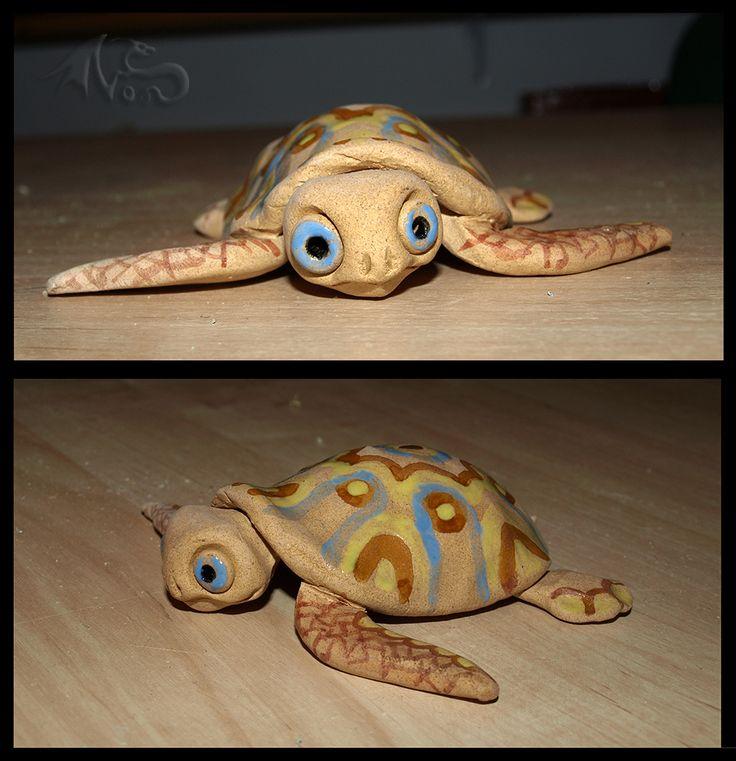keramický želvičkový talismánek