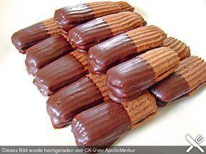 Schokoladenzungen, ein tolles Rezept aus der Kategorie Weihnachten. Bewertungen: 2. Durchschnitt: Ø 3,8.