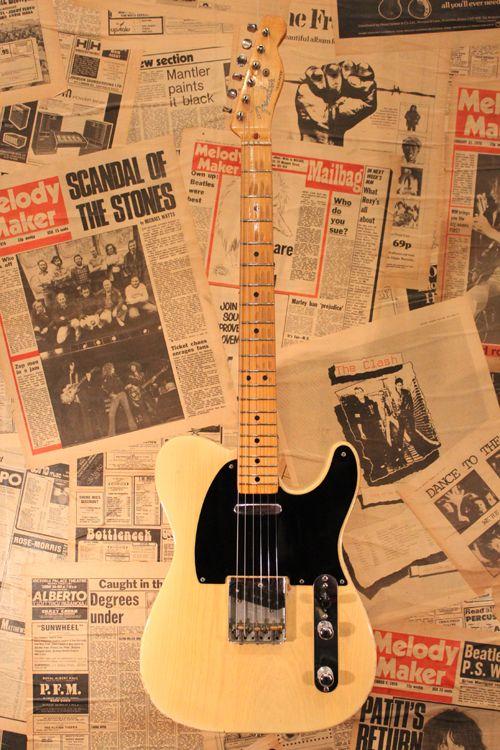 """Fender USA Telecaster """"Blackguard Excelent Clean…"""