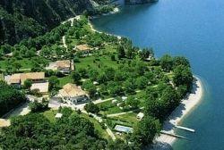 Camping Vantone Pineta idro meer italie