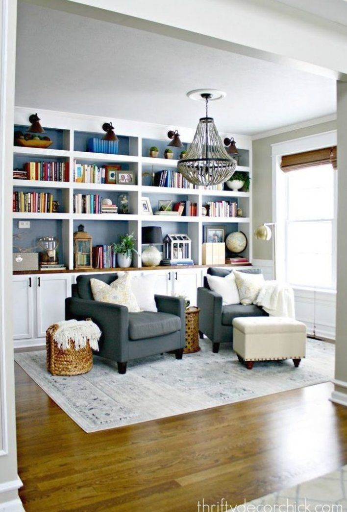 Dining Room Turned Library Hmmm Could See This Happening Maybe Game Study Space With Extra Home Library Rooms Bedroom Seating Area Living Room Design Diy