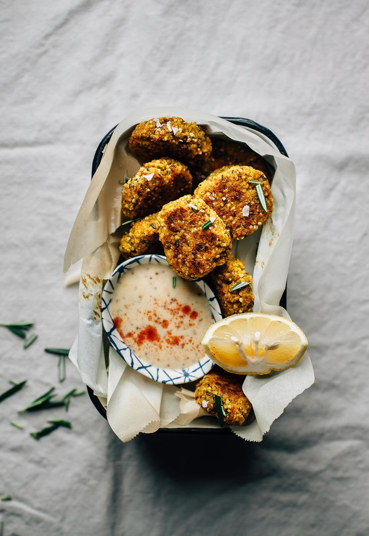 Super Savoury Veggie, Hemp & Millet Nuggets - The First Mess