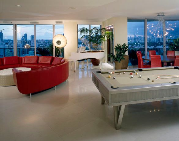 Best 25 modern pool tables ideas on pinterest pool for Rec room pools