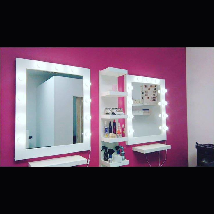Verical 70x90cm makeup mirrors from ZAP project. 14x LED 4500K 3W light bulbs. Meet us on facebook and instagram :) http://zapproject.pl/