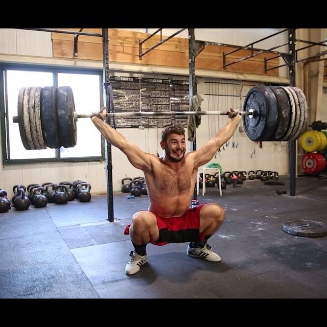 Matt Fraser snatches 315#. What is most impressive is to remember he can do some…