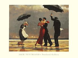 Jack Vettriano - The Singing Butler - Two Sizes - Available Again!
