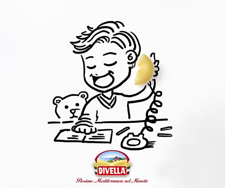Dal 1890 Divella stimola la tua creatività. Scopri i Gomiti 53 Divella qui >> http://goo.gl/zIIGGV