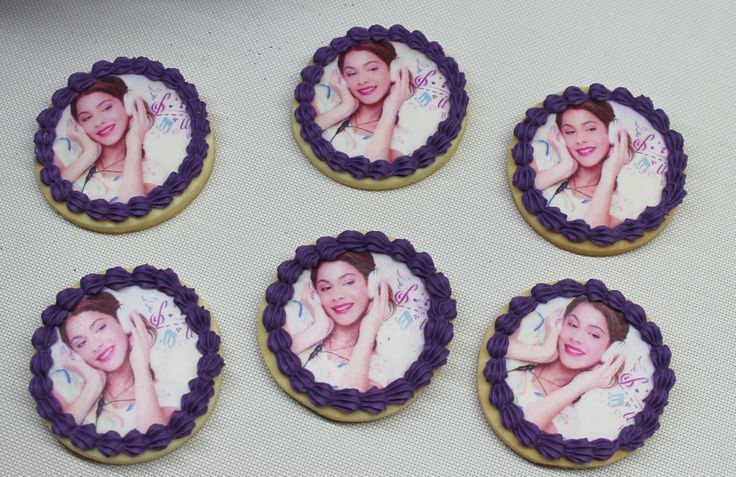 Violetta Disney Cookies by Violeta Glace