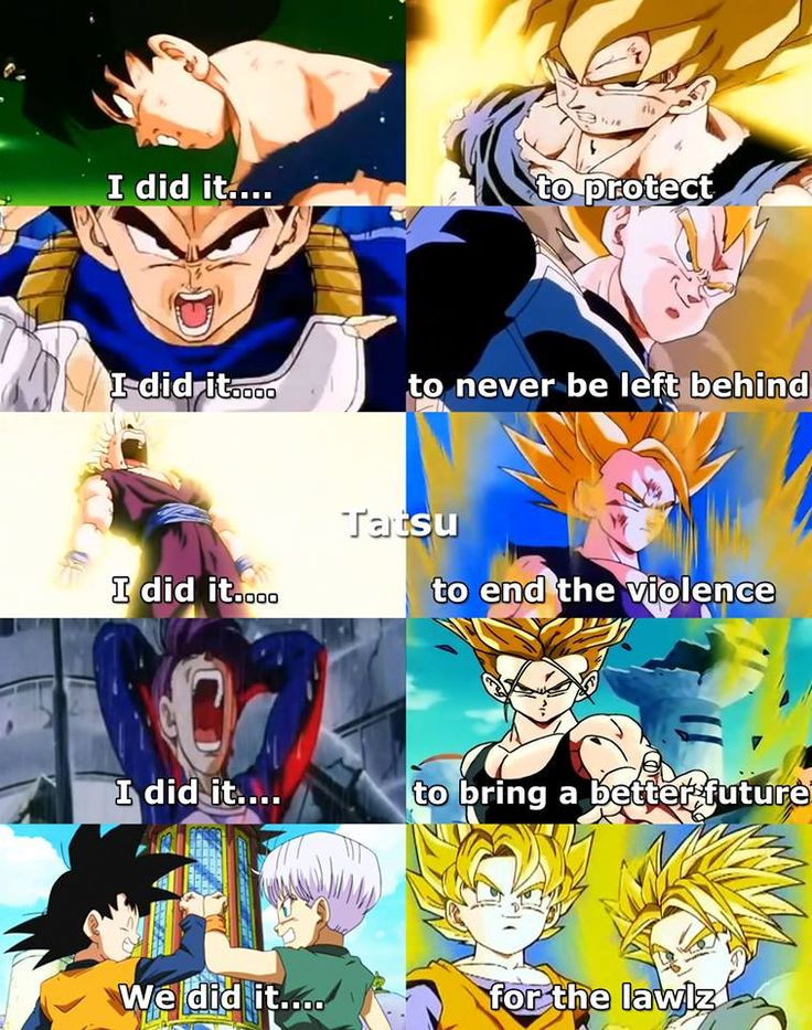 Lol...I know right? Everyone else had to go through hell but noooo with Goten and Trunks its like BOOM! haha