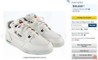 Ιωάννης Πρωτοπαπαδάκης: Αθλητικά παπούτσια της Apple βγαίνουν σε δημοπρασί...
