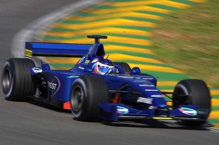 Gaston Mazzacane, Interlagos 2001, Prost AP04