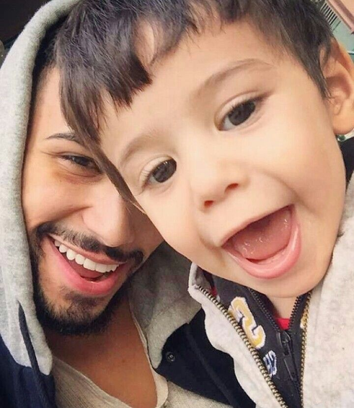 Adam with mohsin baby