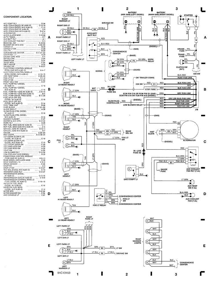 chevrolet 2500 pickup wiring diagram