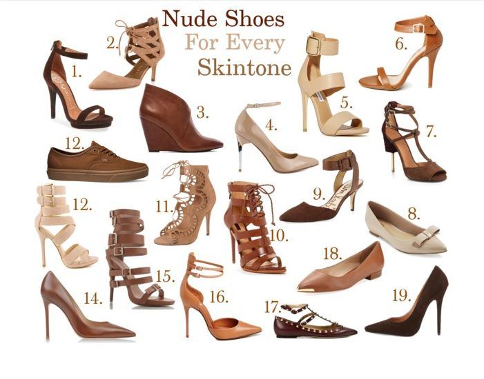 d7b81f7e4 A Guide to the Perfect Nude Shoe for Your Brown Skin...is a perfect holiday  gift!  -)