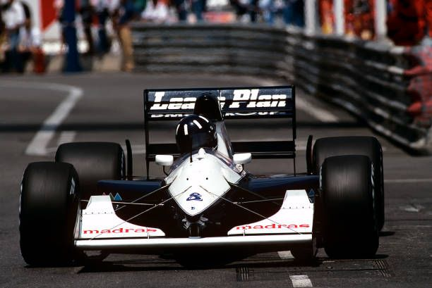 Damon Hill BrabhamJudd BT60B Grand Prix of Monaco Circuit de Monaco 31 May 1992 Damon Hill in the 1992 Monaco Grand Prix where he only raced in...
