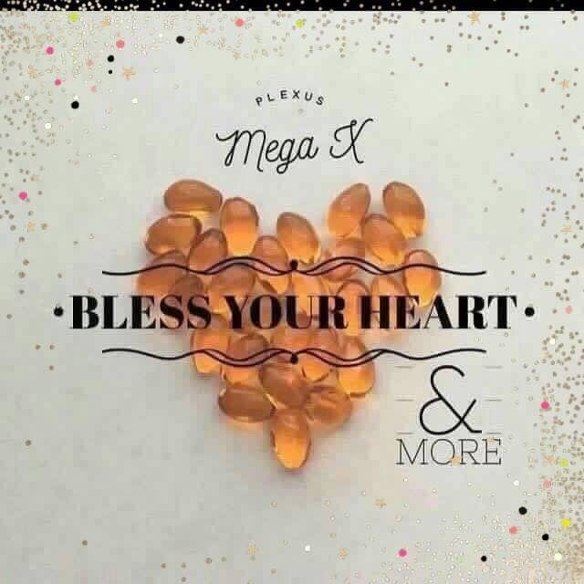 ❤️Bless your Heart❤️ Did you know that your body doesn't create the essential fatty acids that it needs? Plexus MegaX can help!  ❤️Supports healthy lipid level ❤️Supports normal cholesterol and blood pressure level ❤️Support for brain health ❤️Supports healthy brain development  ❤️Omega-3 fatty acids play a crucial role in brain function ❤️May have a positive effect on memory loss linked to aging ❤️Helps w stress management ❤️Aids in relaxation ❤️May be essential for optimal visual…