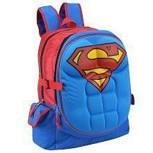 Fancy - Superman 3 D Molded Chest Backpack