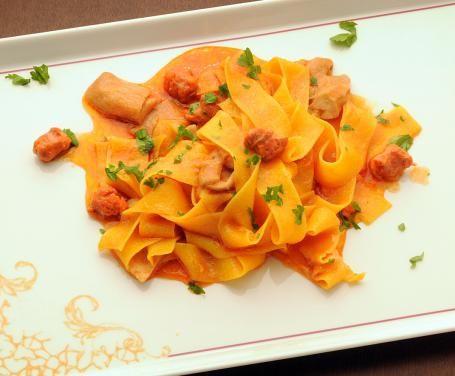 Ricetta Pasta con salsiccia Bimby