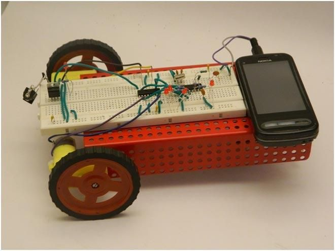 Cell Phone Controlled Robot Without Microcontroller: Step by Step Guide