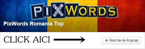 Raspunsuri PixWordsdin 16Litere - Pixwords Romaniaraspunsuriin limba Romana pentru cel mai popular joc de cuvinteincrucisate care a crescut foarte mul