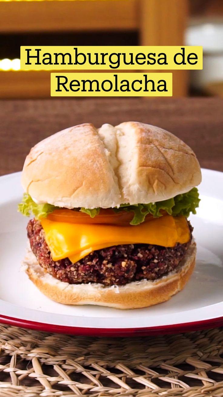 Cheesy Recipes, Veggie Recipes, Mexican Food Recipes, Vegetarian Recipes, Cooking Recipes, Healthy Recipes, Comida Diy, Beet Burger, Tastemade Recipes