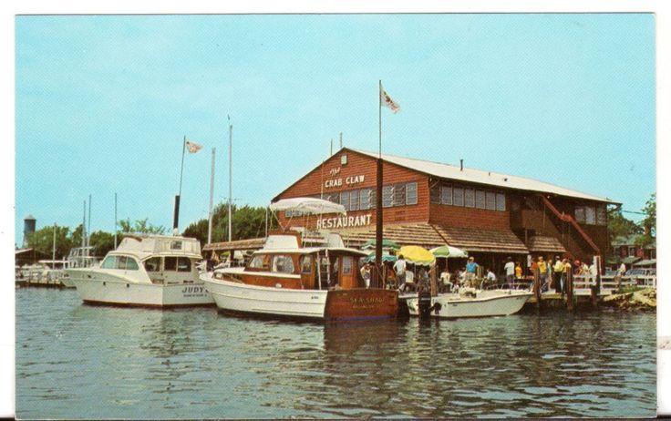 Undated Unused Postcard The Crab Claw Inc Restaurant St Michaels Maryland MD - Advintage Plus