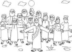 The Twelve Apostles Of Jesus Coloring Pages