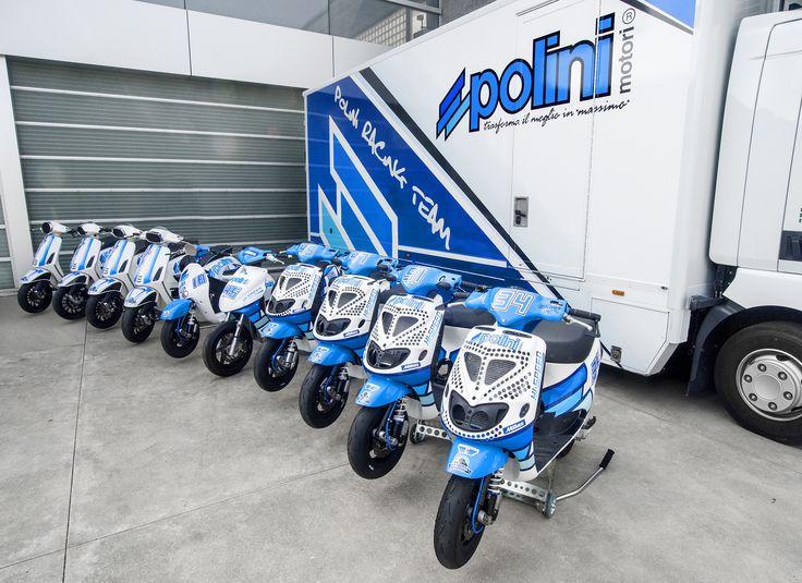 Ready to go ✊️ @nicolazappettini #polini #poliniitaliancup #newseason #race #races #sport #motorsport #2017 #scooter #team #track #white #work #engine #racing #today #tuning #yamaha #piaggio #speed #fun #game #job #challenge #vespa #blue #moto #motorcycle
