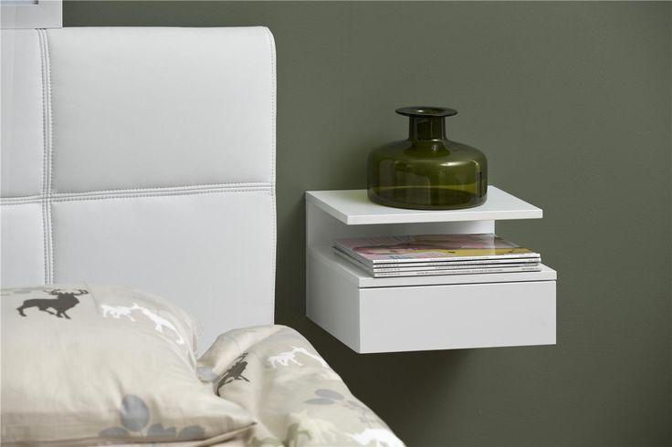 op zoek naar modern zwevend nachtkastjes voor bijv boxspringbedden? kijk op de website van aktie wonen of kom langs in Zevenaar!